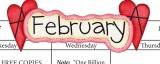 Calendar: February at the Free Space