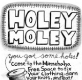 Holey Moley Sewing Circle this Friday, December 13 at 5pm