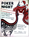January 25 2014 7pm at the Minnehaha Free Space