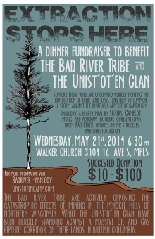 The Bad River Tribe Fundraiser