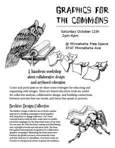 gfx for commons workshop flyer