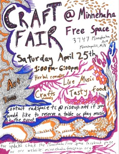 Craft Fair April 25