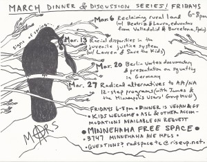 dinner crow