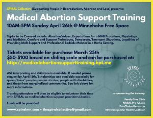 medical abortion doula training