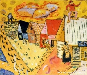 chagall_mark_village_store_1911